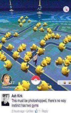 Pokemon Go Team Instinct memes Pokemon Memes, Fotos Do Pokemon, Pokemon Pins, Pokemon Comics, Pokemon Funny, All Pokemon, Pokemon Stuff, Pikachu, Pokemon Mignon
