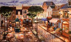 Aspundir: John Patrick O' Brien Art Wallpaper Trip The Light Fantastic, Motif Acnl, Murals Your Way, Naive Art, Easy Paintings, Light Art, Painting Inspiration, Art Gallery, Landscape