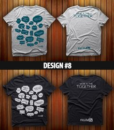Some Tee-Shirt Designs.  Vote for your favorite(s) on our Facebook page.