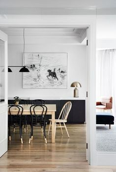 A Case Study In Sophisticated Simplicity, This Toorak Apartment By  Griffiths Design Studio Looks Effortless But Donu0027t Be Deceived. Its  Minimalist Black And ...