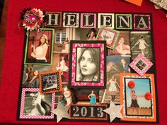 """Thought this was worthy of pinning.  Graduation poster for """"Senior Night"""""""