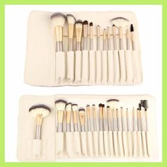 Make Up Brushes Beige Color Pinceis De Maquiagem Foundation Highlighter Eyeshadow Powder Technical Cosmetic Set Beauty 12/ 18PCS