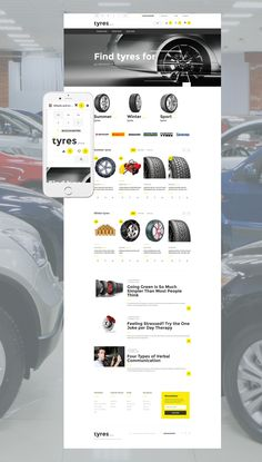 Tires OpenCart Template