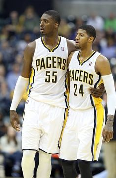 Roy Hibbert & Paul George Indiana Pacers