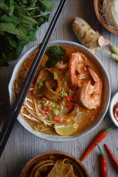 Kuching Style Laksa Recipe by Anthony Bourdain -
