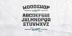 Woodshop Free Font | Download 100 Font Gratis untuk Desain Grafis dan Web
