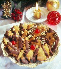 Csokoládés mézesfigurák Hungarian Recipes, Xmas, Christmas, Waffles, Breakfast, Advent, Food, Ginger Beard, Caramel