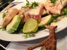 Mine matskriblerier: Salma laks med eplechutney