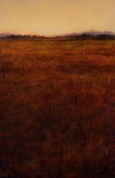 """RETURNING  Oil 36"""" x 24""""  artist Lisa Larrabee"""