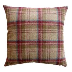Red Plaid Living Room Inspiration On Pinterest Tweed