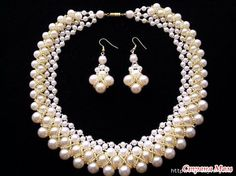 Lovely Beaded Pearl Necklace Tutorials - The Beading Gem's Journal