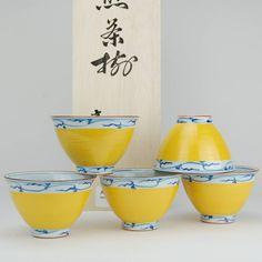 Japanse Arita porseleinen theekopjes