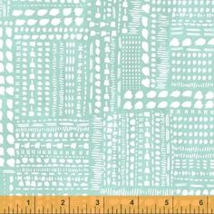 Iza Pearl Design - Blush and Blooms - Dotted Patchwork in Aqua