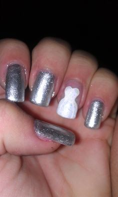 Wedding Gown Nails
