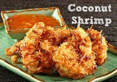 Gluten, Egg & Dairy Free Coconut Shrimp - Health Starts in the Kitchen