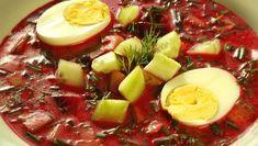 Studený boršč Fruit Salad, Food, Fruit Salads, Essen, Meals, Yemek, Eten