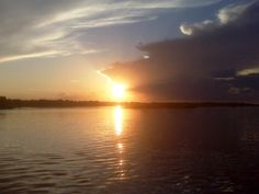 Old Man River, the Mississippi at sunset.  OUR RIVER WAS THE YAZOO ACROSS THE ROAD FROM OUR HOUSE.