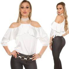 cde0050cc1 Nyitott vállú fehér felső - Venus fashion női ruha webáruház - Elképesztő  árak - Szállítás 1-2 munkanap