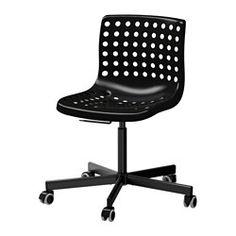 IKEA - SKÅLBERG / SPORREN, Swivel chair, black,  ,