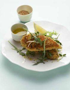 Blancs de poulet panés pour 4 personnes - Recettes Elle à Table