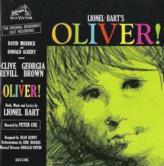 Lionel Bart's OLIVER! Clive Revill - Georgia Brown - Original Broadway Cast CD