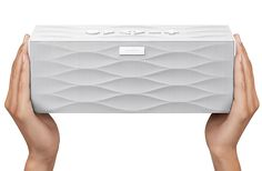 Jawbone Big JamBox. I have the smaller original one, but sometimes I want to go a little louder.
