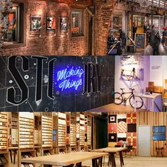 Explore Earphones and a Rotating Gallery Space in Chelsea [Retail Tour] Concept Stores, Store Fronts, Chelsea, Photo Wall, Retail, Tours, Explore, 3d, Space