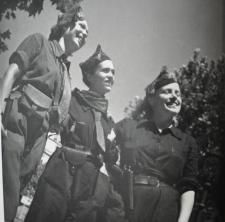 Spanish Civil War, 1936-1939. Republican militia women.