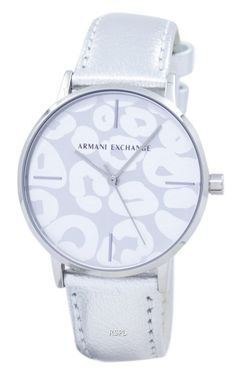 We are lowest price watches supplier like Armani Exchange Analog Quartz Women's Watch has Stainless Steel Case, Leather Strap, Quartz Movement, Mineral Crystal Armani Watches, Luxury Watches, Crown And Buckle, Authentic Watches, Silver Pocket Watch, Swiss Army Watches, Beautiful Watches, Elegant Watches, Stylish Watches
