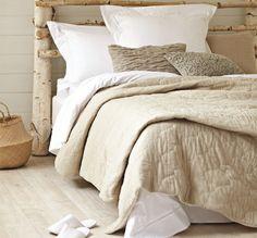 White Bedlinen - Ladder Stitch | Shop Online | Sooper Design
