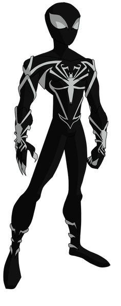 Spectacular Spider-Man Unlimited Black Suit by ValrahMortem on deviantART