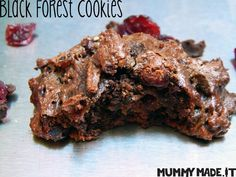 These Black Forest Cookies are Gluten Free, Dairy Free, Refined Sugar Free and Paleo friendly.