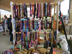 We premiered our new dog collar display this past Saturday at the market. I think it looks great. It also did a fantastic job of adequately holding a large amount of collars (approximately 60 tot…