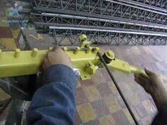 Maquina fabricar estribos aimprodind@yahoo.es - YouTube