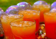 Sparkling Tropical Punch ~ For Adults | Noble Pig