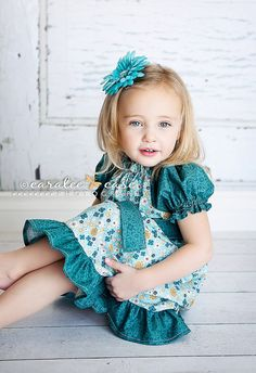 These colors would look great on Brielle with her blue eyes!