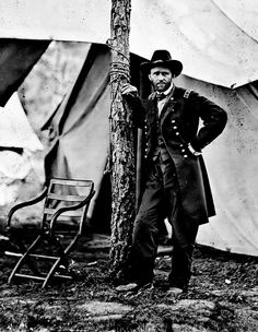 General Grant, one of my favorite images from the American Civil war.