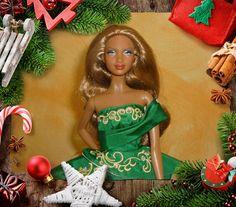 Ellaria as Holiday Barbie 2011