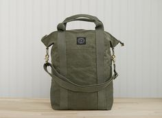 Canvas Transit bag | Field Aesthetic Made in Vermont