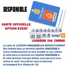 abonnement al jazeera sport 10 chaines 12 mois + option event 2012