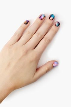 Stephanies Galaxy Nail Wrap