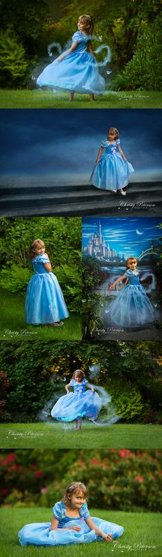 cinderella misty magical butterflies photography session new movie stair digital background
