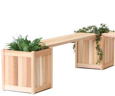 Outdoor Benches Garden Benches Outdoor Ideas Outdoor Decor Outdoor Spaces Outdoor Living Planter Bench Patio Bench Planter Boxes