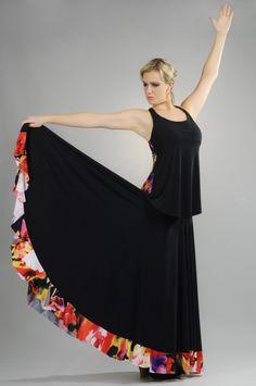 Flamenco skirt Flamenco Costume, Flamenco Skirt, Dance Costumes, Flamenco Dresses, Gorgeous Fabrics, Girl Fashion, Womens Fashion, Dance Dresses, Girly Girl