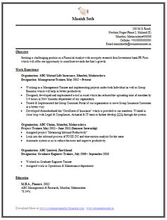 Download Resume Resume    Free Download Resume Format Resume Sample  Resume For Mba Freshers Doc Resume