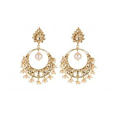 BEAUTIFUL KUNDAN EARRINGS WITH PEARLS. These Silver Earrings are 22 ct gold plated sterling silver earrings with fresh water pearl & imitation Kundan. Code - SME 813 To shop - www.silvermerc.com And for any Query and pre-order of sold out items you can mail us- silvermercdesign@gmail.com #onlinesilverjewelry #onlineshopping #onlineearrings #earrings #silvermerc #kundanearrings