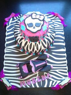 Torta de Monster High