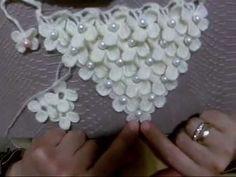 ÇİÇEKLİ ŞAL YAPILIŞI - YouTube Crochet Shoes, Crochet Scarves, Crochet Motif, Crochet Stitches, Shawl, Crochet Earrings, Make It Yourself, Blog, Crochet Cardigan Pattern