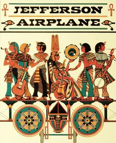 psychedelic-sixties:  Jefferson Airplane Art David Byrd