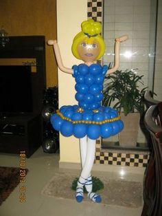 Esculturas baloes- Bailarina